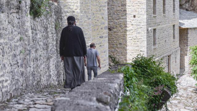 Ιερομόναχος στη Μονή της Παναγίας της Στάνας