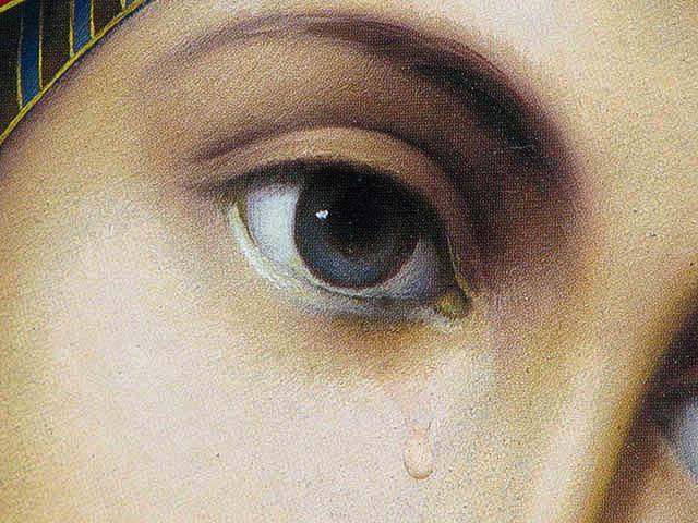 Το βλέμμα της Παναγίας